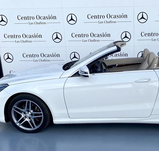 Mercedes E200 Cabrio, 61.000 km, año 2016, 36.000€